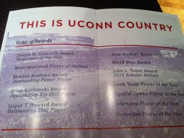 Uconn Football Awards Show Showcases Family Atmosphere This Is